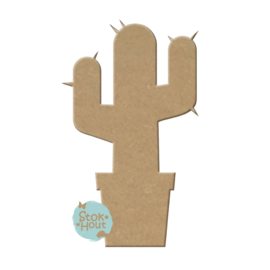 MDF figuur: Cactus (M155)