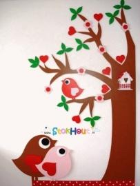 Muurboom `Hartjesboom` (Prijs in overleg)