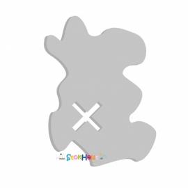 Muurfiguur Schatkaart (10-20cm)