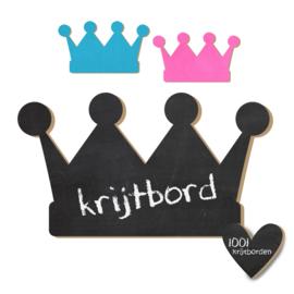 Krijtbord Kroon Prins - 20-50-75cm (KR003)