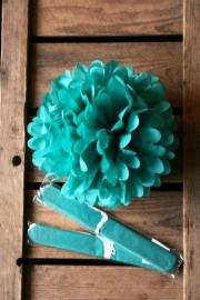 Pompom - 25cm - Turquoise (ST108)