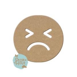 MDF figuur: Emoticon #6 (M269)