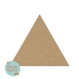 MDF figuur: Driehoek (M208)