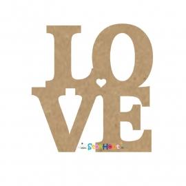 MDF figuur: LOVE (30-50-75-100cm)