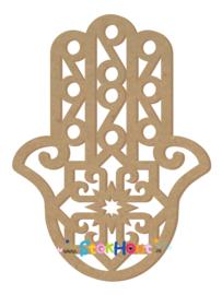 MDF figuur 95cm Hand van Fatima (Hamsa) (ST075)