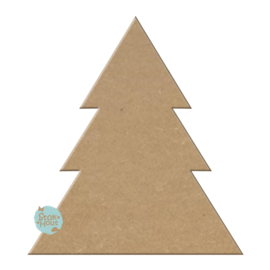 MDF figuur: Kerstboom #1 (M043)