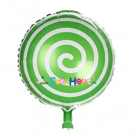 Folieballon Spiraal - Groen - 45cm (ST049)