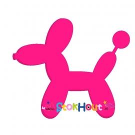 Ballon figuur: Hond (10-20cm)