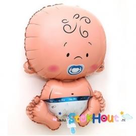 Baby Ballon - Jongen - 65cm (ST042)