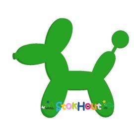Ballon figuur: Hond (30-50-75-100cm)
