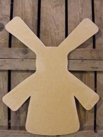 MDF Figuur 50cm `Molen` #2