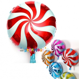 Lollie ballon - Rood - 45cm (ST040)