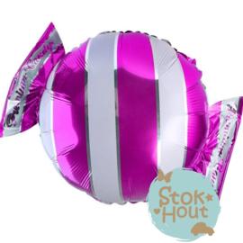 Folieballon Snoepje - Roze - 65cm (ST149)