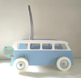 "Loopkarretje ""VW busje"" (bijv. Zacht blauw) (ST086)"