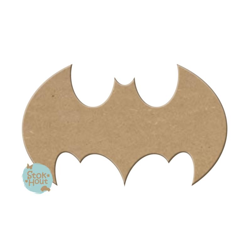 MDF figuur: Batman logo #1 (M139)