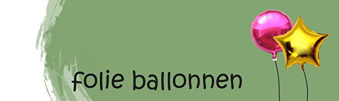 Hele leuke folie ballonnen