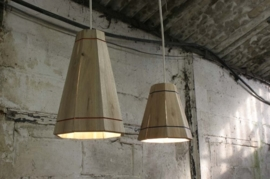 RESCUED! Palletlamp Small blank hout