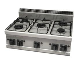 Gas kooktoestel 5 branders