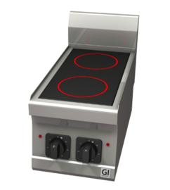 Elektrisch keramische kookplaat