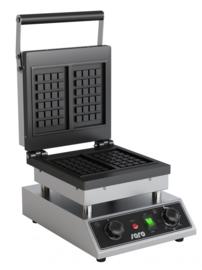 Wafelijzer elektrisch  230 V - 50 Hz - 1,6 kW