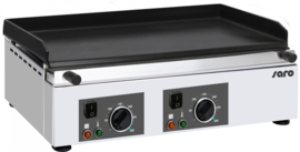 Electrische grillplaat   2 x 230 V - 50 Hz - 2 x 2,25 kW