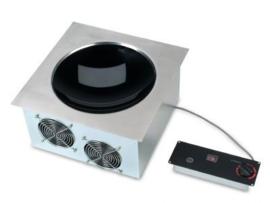 Inbouw WOK inductiekookplaat 230 V / 1 Ph / 3,5 kW