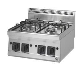 Gas kooktoestel 4 branders