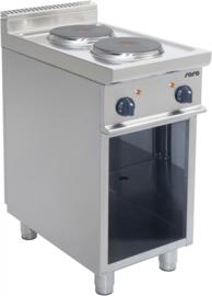 Elektrische kooktafel | Fornuis   2 x 2,6 kW