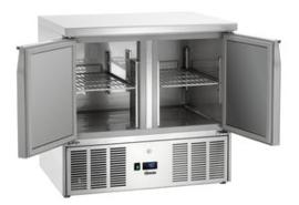 Mini-koelwerkbank met 2 deuren 1/1 GN