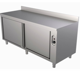 warmhoudkast met achteropstand 1000(l)x700(d)x850(h)mm