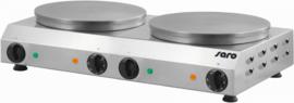 Crêpe bakplaat dubbel  400 V - 50 Hz - 4,8 kW