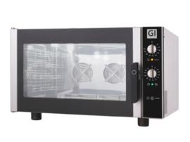 Heteluchtoven voor 4 bakplaten/roosters van GN1/1 of 600x400mm