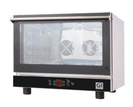 Heteluchtoven, digitaal, voor 4 bakplaten/ roosters van GN1/1 of 600x400mm