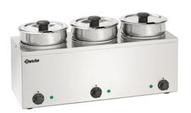 Bain-Marie Hotpot, 3x pan, 3,5 Liter