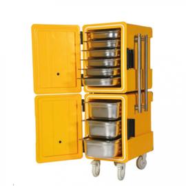 Thermobox groot op wielen Geschikt voor 1/1 GN