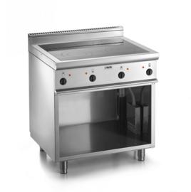 keramische kookplaat met onderstel