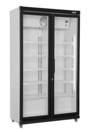 Horeca Display koeling met 2 dlazen deuren 850 liter