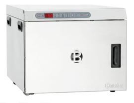 Lage-temperatuuroven 1,2 kW tot 110 graden