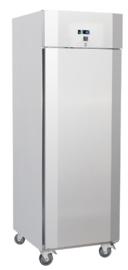 Horeca koelkast RVS , 700 liter koelkast, geforceerd gekoeld