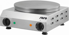 Crêpe bakplaat enkel 230 V - 50 Hz - 2,4 kW