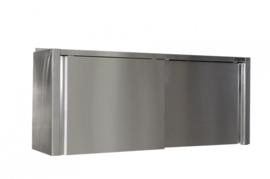 Hangkast RVS  B 1000 x D 400 x H 600 mm