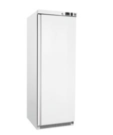 wit stalen koeling 400 liter, statisch gekoeld met ventilator