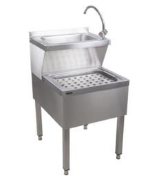 Handwasbak  B 500 x D 600 x H 850 mm