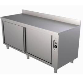 warmhoudkast met achteropstand 1200(l)x700(d)x850(h)mm