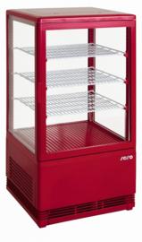 Mini Koelvitrine | opzet koeling Rood