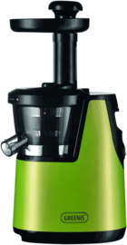 Slowjuicer |  Sapcentrifuge | Groen BPA Vrij | 65 RPM | 150W
