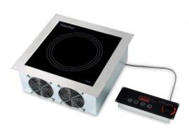 Inbouw inductiekookplaat 230 V / 1 Ph / 3 , 5 kW