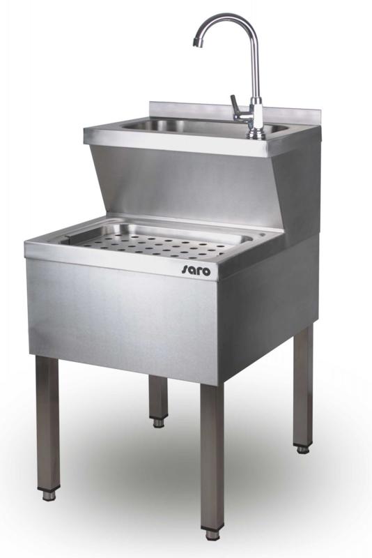 Handwasbak RVS  B 500 x D 700 x H 850 mm