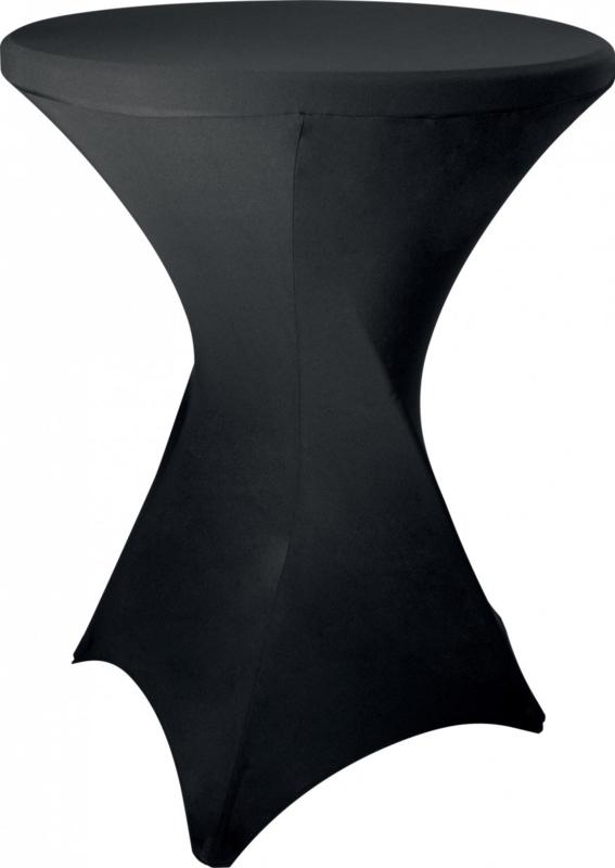 Sta-Tafel hoes zwart
