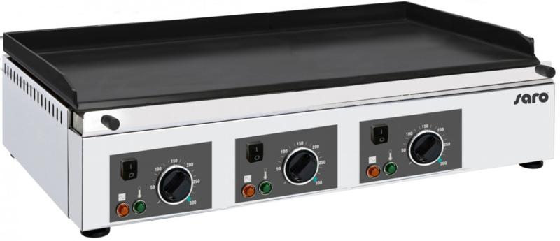 Electrische grillplaat   3 x 230 V - 50 Hz - 3 x 2 kW